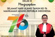 HUT Mahkamah Agung Republik Indonesia Ke-76
