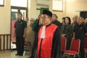Pelantikan Ketua Pengadilan Negeri Tembilahan
